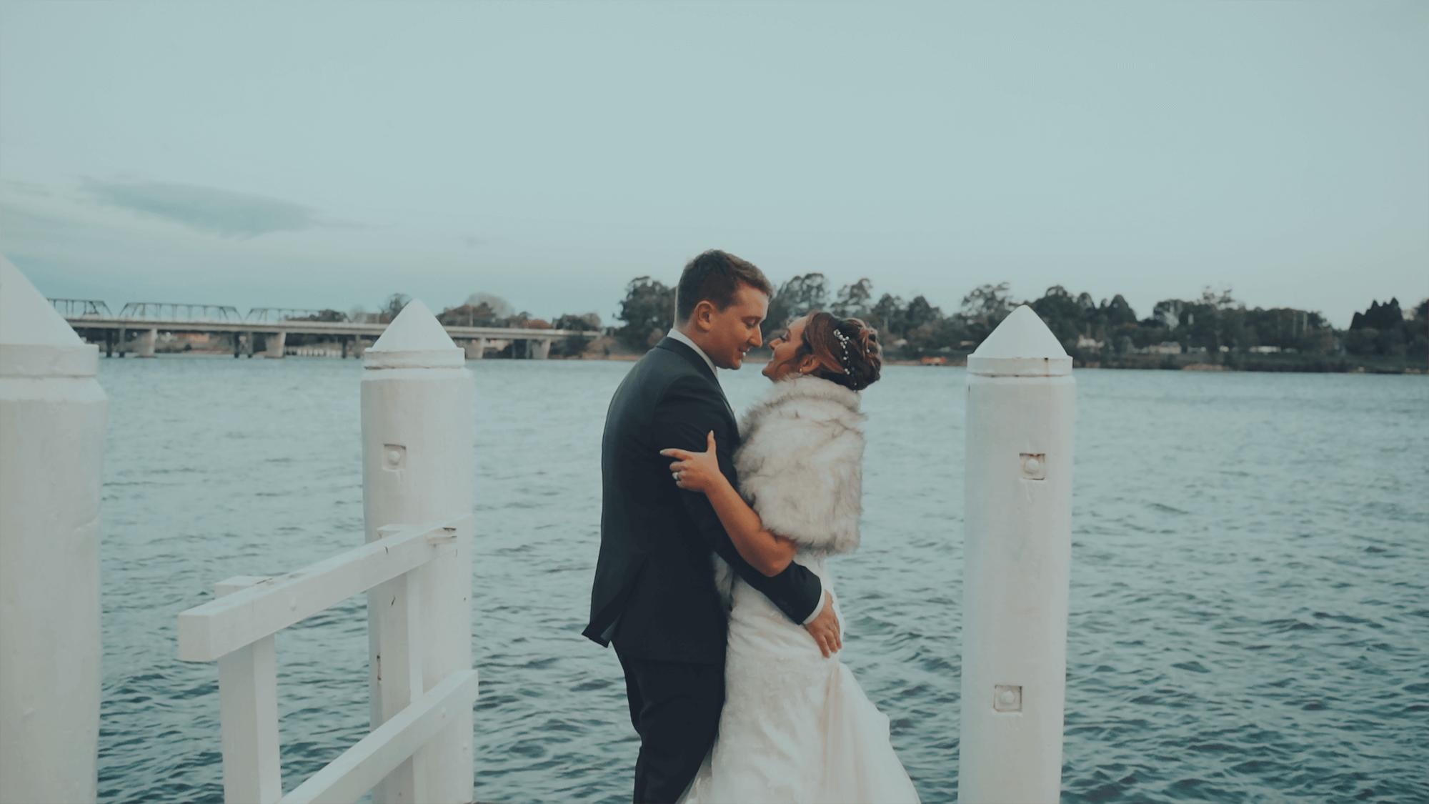 Wedding Videographer | shoalhaven river wedding
